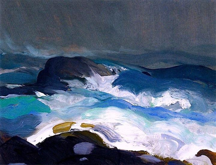 George Bellows - 1913 Sea in Fog