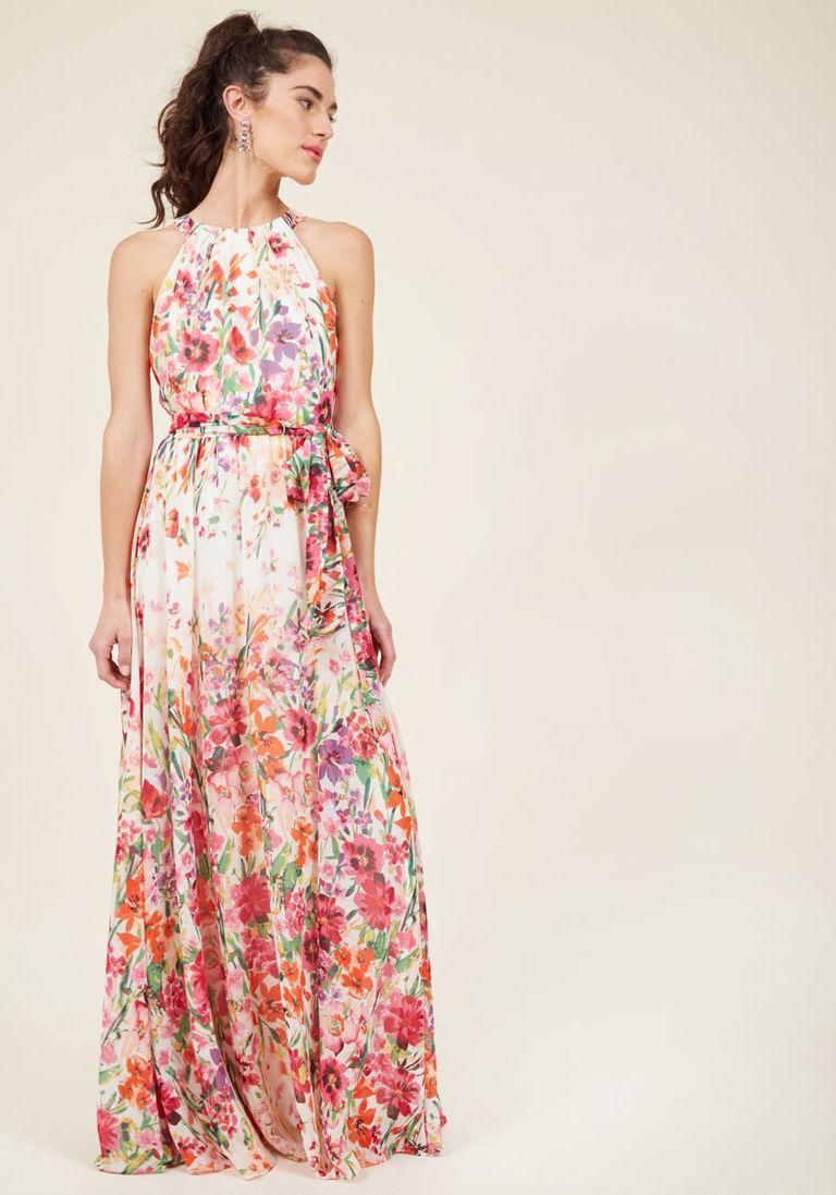 Elegant maxi dresses for weddings  AdoreWe ModCloth Eliza J Eliza J EverFlowing Elegance Maxi Dress