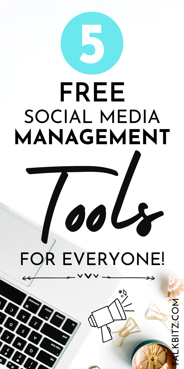 6 Best Free Social Media Management Tools For Beginners 2020 Talkbitz Social Media Management Tools Free Social Media Social Media Manager