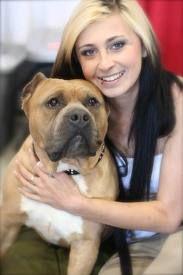 Mariah Harmony Villalobos Rescue Center Pitbulls Pet Quotes