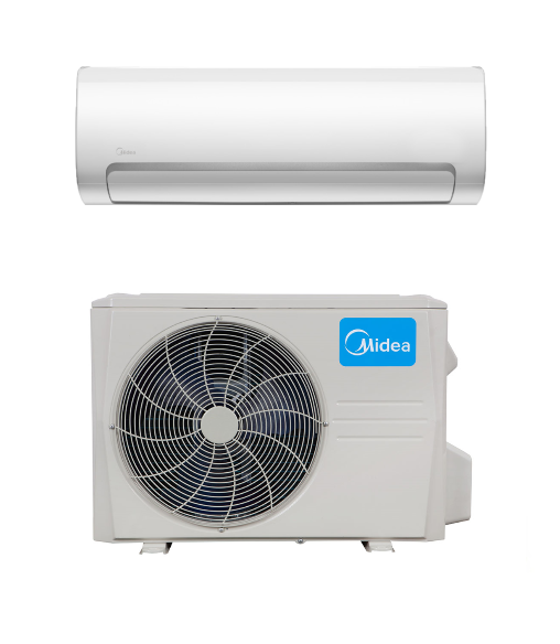 Midea Hyper Heat Pump Ac We Offer A Wide Variety Of Ductless Mini Split Systems Midea 12000 Btu 21 5 Seer Du Heat Pump Ductless Air Conditioning Installation