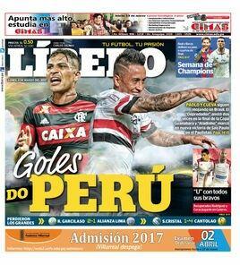 Todas las semanas anotan goles en el Brasileirao. March 06, 2017.