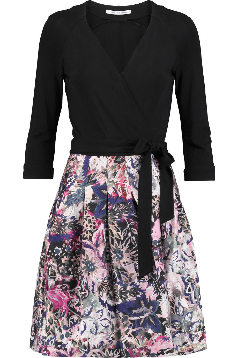 Floral-print Cotton And Silk-blend Wrap Dress - Black Diane Von F</ototo></div>                                   <span></span>                               </div>             <div>                                     <div>                                             <div>                                                     <p>                                                           <small>                                 Buy direct SAVE! No Sales Tax to US Residents! FREE Priority shipping on US orders over $100!                             </small>                                                       </p>                                                 </div>                                         </div>                                     <div>                                             <div>                                                     <ul>                                                             <li>                                                               </li>                                                             <li>                                                                   <a href=