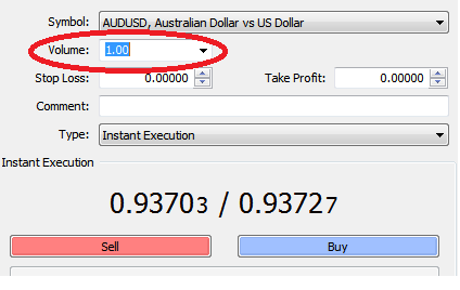 What is 1 lot in forex trading