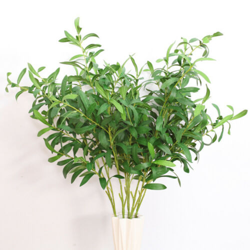 95cm Olive Tree Green Branches European Artificial Plants Office Bonsai Display ...#95cm #artificial #bonsai #branches #display #european #green #office #olive #plants #tree