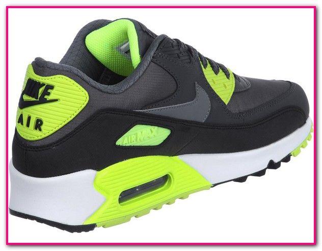 Nike Air Max gelb schwarz Gr. 43 Herren