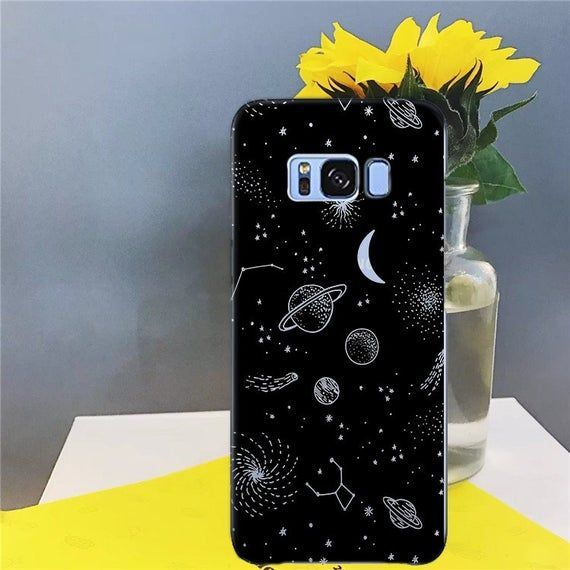 Space case case for s8 samsung s10 samsung a20 note 9 | Etsy