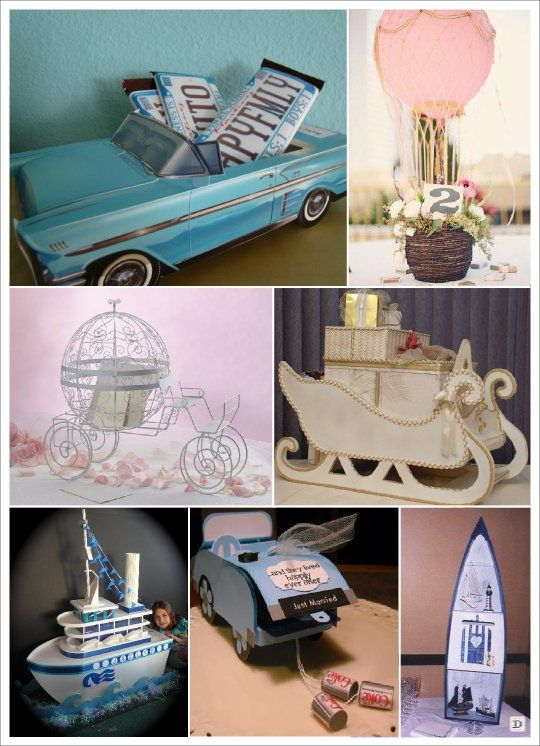 urne mariage barque bateau voiture montgolfiere carrosse projets essayer pinterest. Black Bedroom Furniture Sets. Home Design Ideas