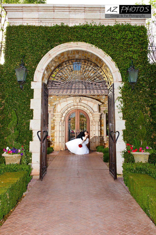 Villa Siena Courtyard: #arizona #wedding #location More ...