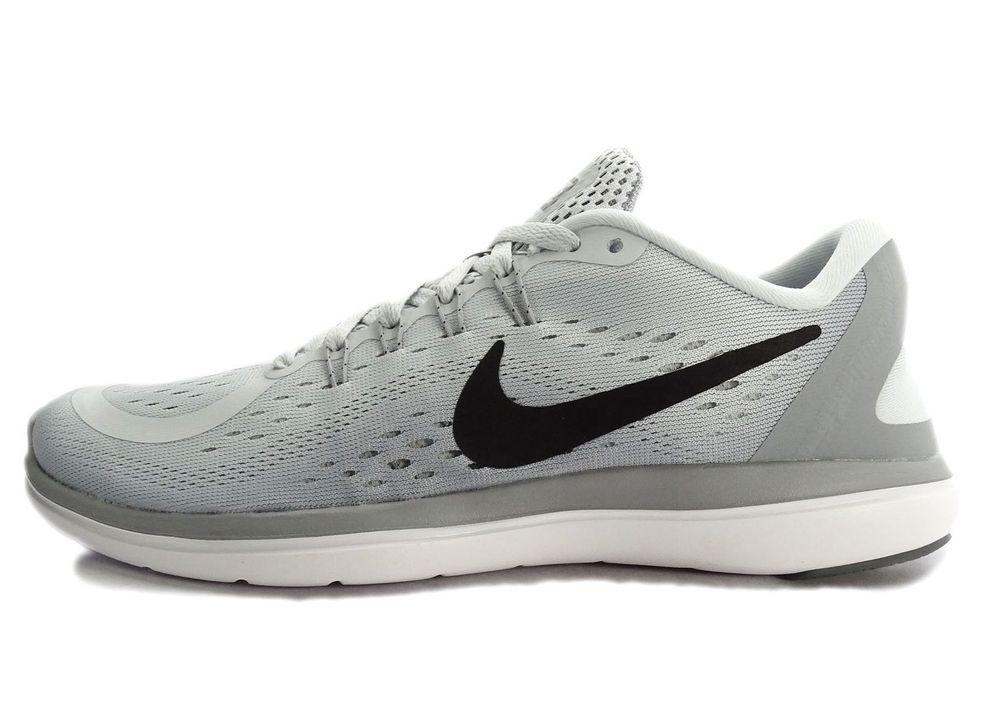 361fd695929d Nike Flex 2017 RN Women s Running Shoe Size 8 US Grey Black  Nike