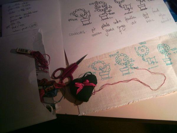Ma méthode pour transformer un strip BD en une broderie au point de croix