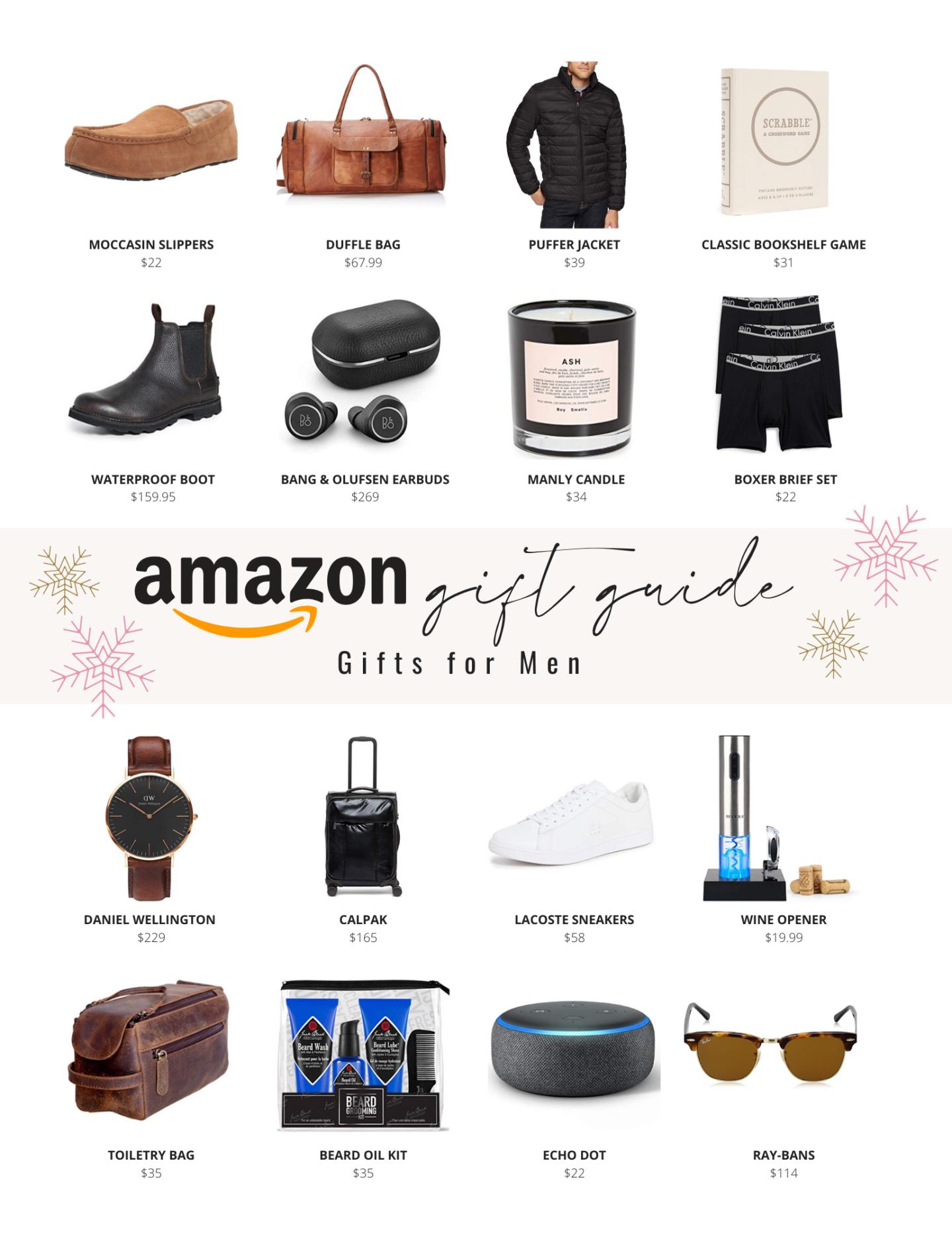 The Ultimate Amazon Gift Guide Amazon Gift Ideas For Men Best Amazon Gifts Amazon Gifts Mens Gift Guide