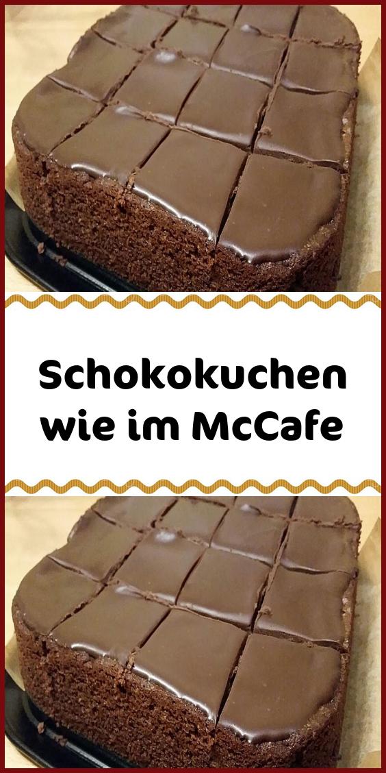 Schokokuchen wie im McCafe