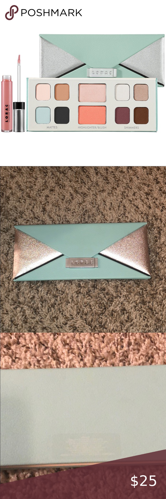 LORAC Mint Edition Eye & Cheek Palette New This palette is brand new but does n#design #model #dress #shoes #heels #styles #outfit #purse #jewelry #shopping #glam #love #amazing #style #swag