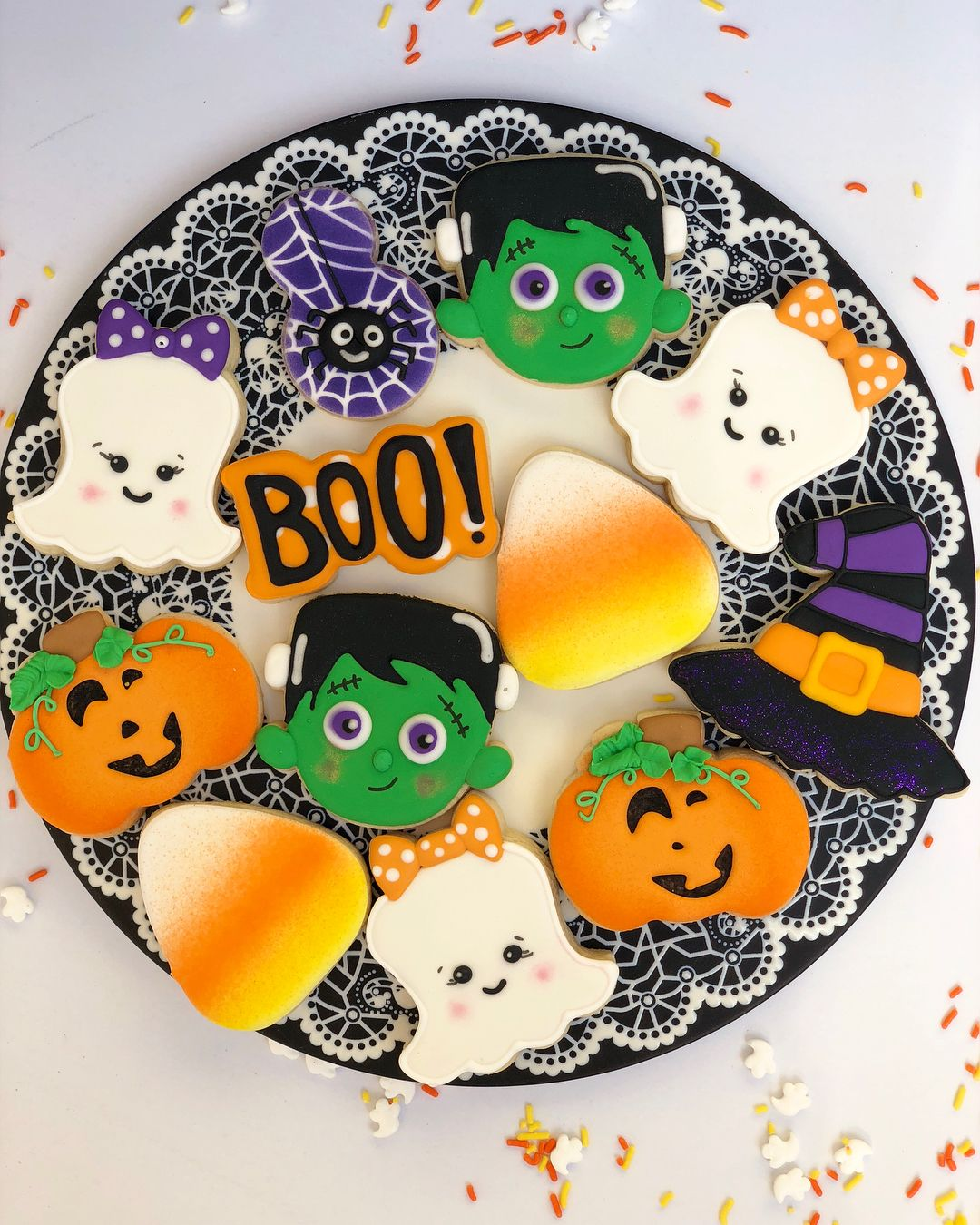 Pin by Kristy Cook on Halloween Cookies (With images