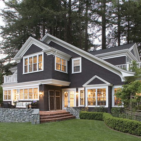 Kendall charcoal benjamin moore design ideas pictures remodel and decor h o m e in 2019 for Kendall charcoal exterior paint