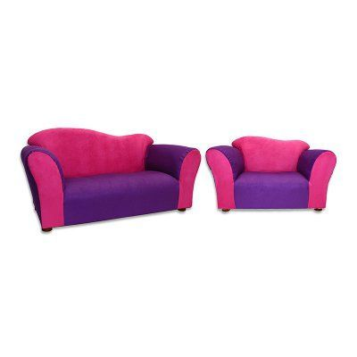 Beautiful KEET Wave Sofa And Chair Set   Pink And Purple   ZW01 Design Inspirations