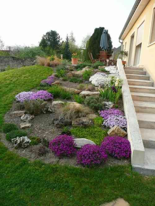 dcoration de jardin en pierre en 31 ides inspirantes - Pierre De Jardin Decorative