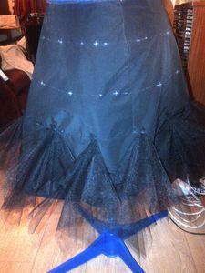 Jupe en mouchoirs de tulle | couture | Create