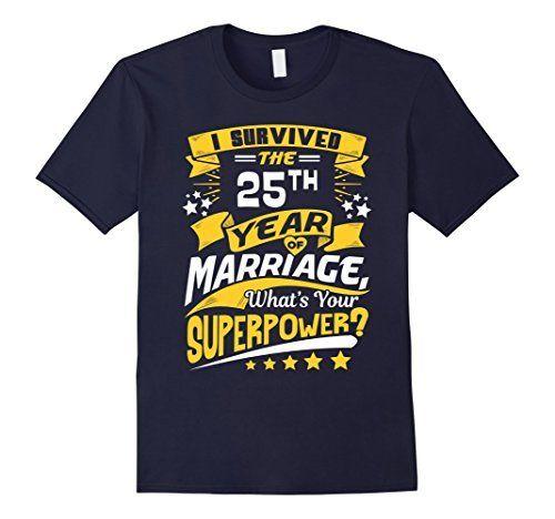 Twenty Fifth Wedding Anniversary Gift Ideas: 25th Wedding Anniversary Gift Twenty-fifth Year T-Shirt