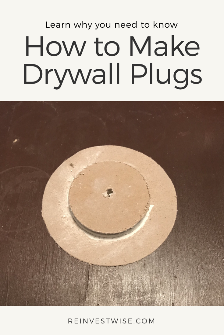 How To Make Drywall Plugs How To Make Drywall