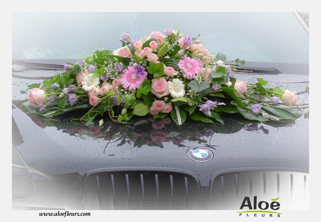 bouquet de mariée cascade. mariage contemporain parme et violet