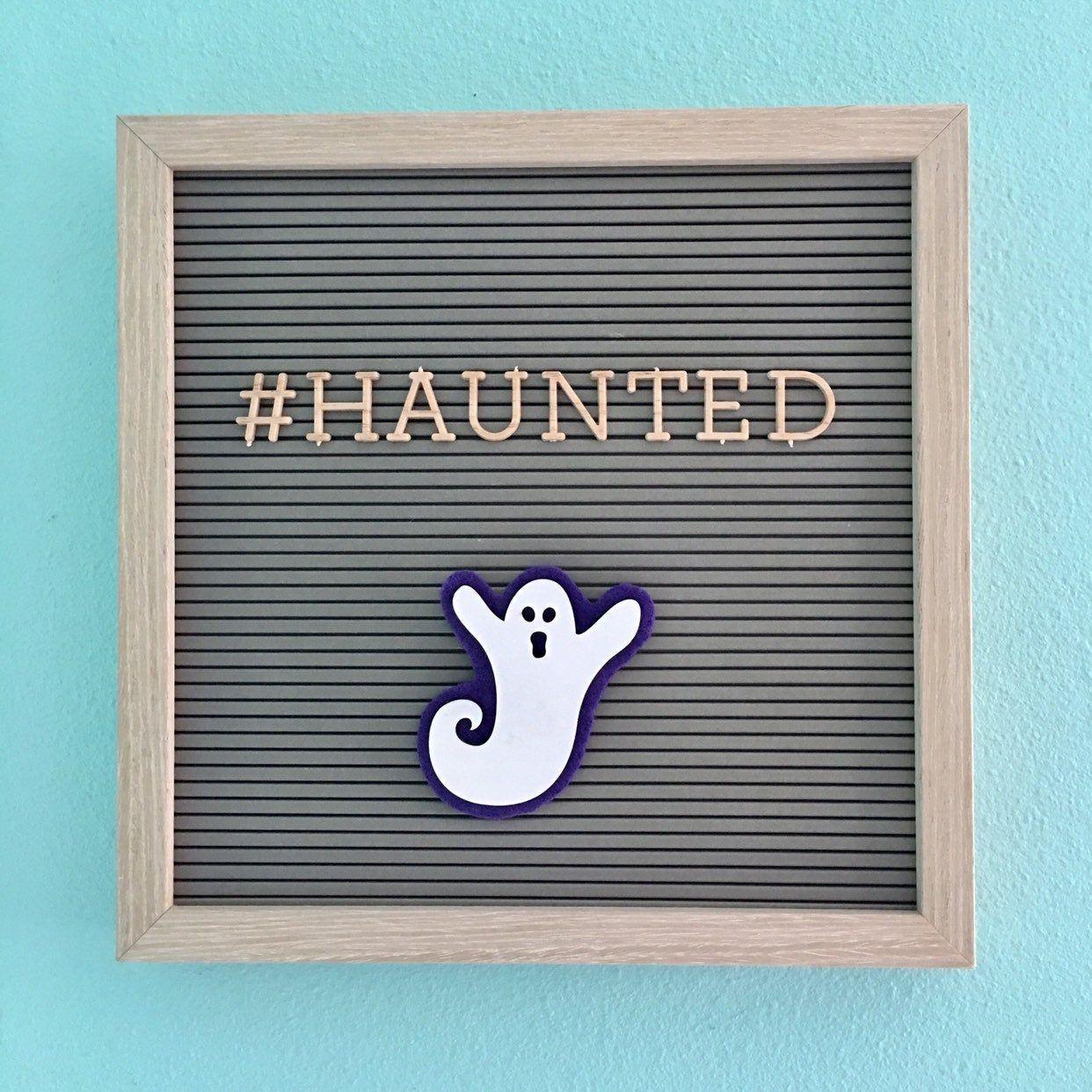 Ghost Letter Board Accessories, Halloween Letter Board