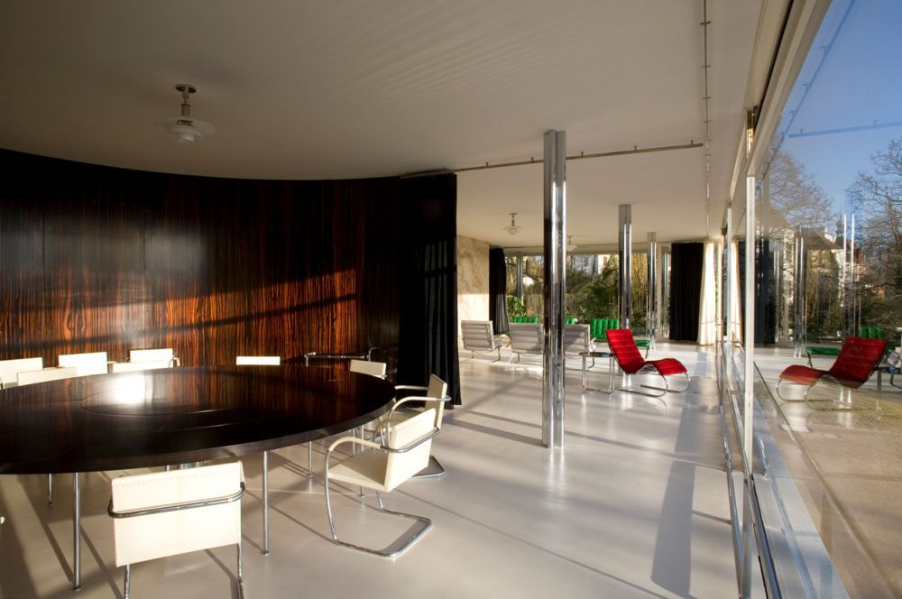 Tugendhat House Mies van der Rohe Modernist furniture