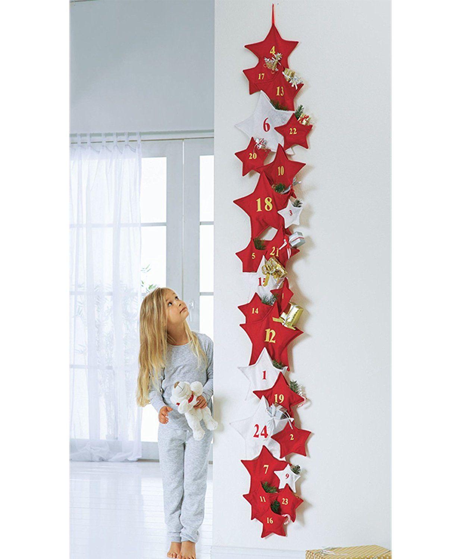Xxl Adventskalender Sterne Zum Selbst Befüllen Advent Kalender