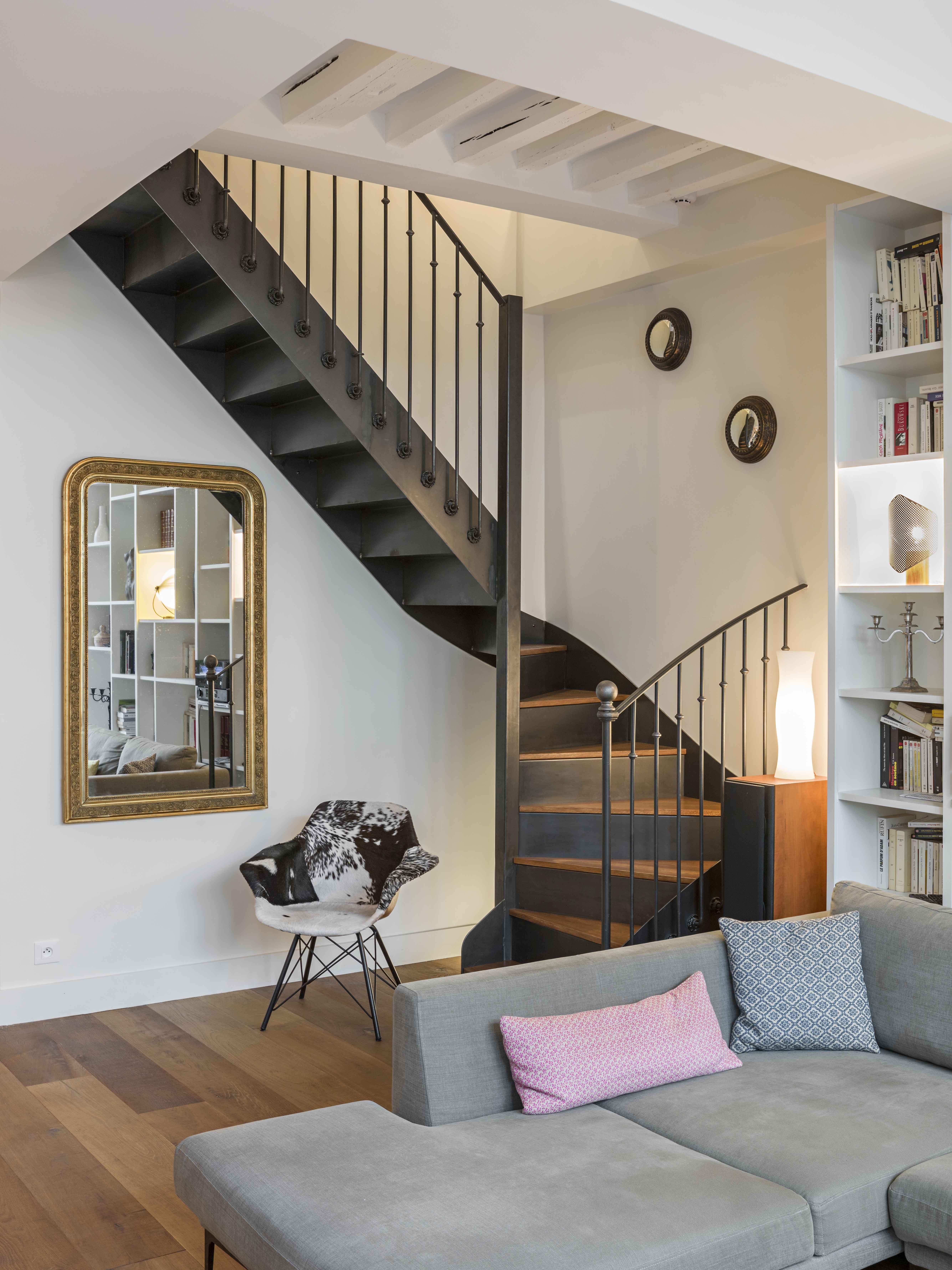 Modele D Escalier Peint marie alfroid architecture - project. escalier 2/4 tournants