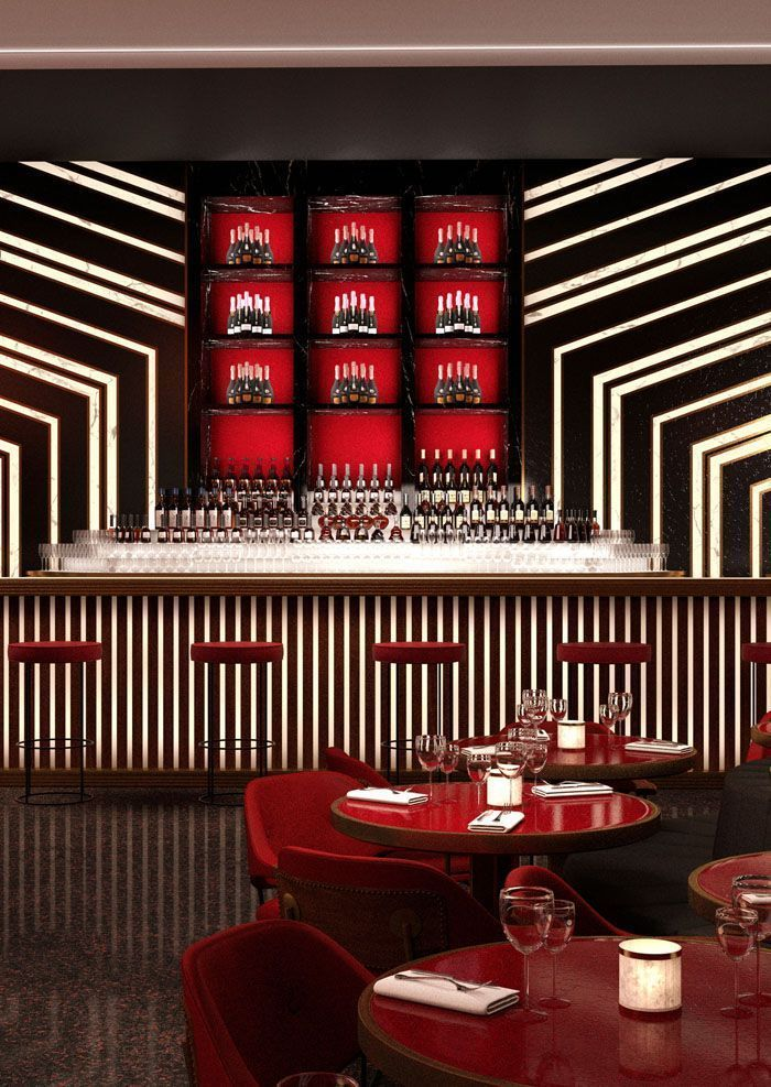 Perfect Amazing Restaurant Interior Design Ideas, Stylish Cafe Interior Design  Projects, Bar Interiors With Chic Seating, Barstools And Lighting. Dazzling  U2026