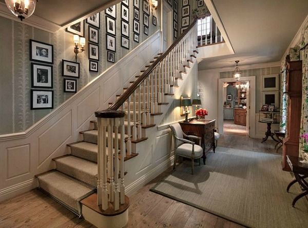 Brookside: New England Farmhouse Style in Montecito | Staircases ...