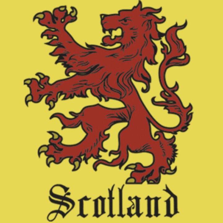 Scottish Lion Tattoo: Scottish Rampant Lion