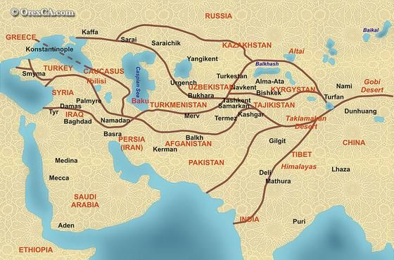 The Mediterranean Sea The TransSaharan The Indian Ocean basins