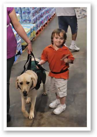 Brandon And Casper Our Dogs Autism Service Dogs Service Dogs