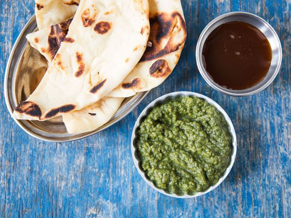 Unlike traditional Indian mint chutney recipes, this one won't weep or separate, thanks to the addition of chia seeds.