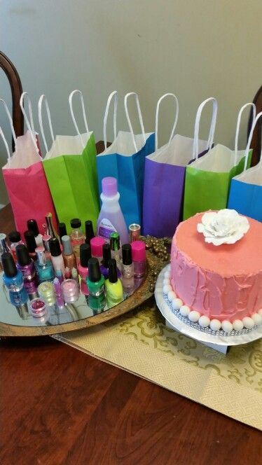 11 year old daughter spa birthday party it was inexpensive also