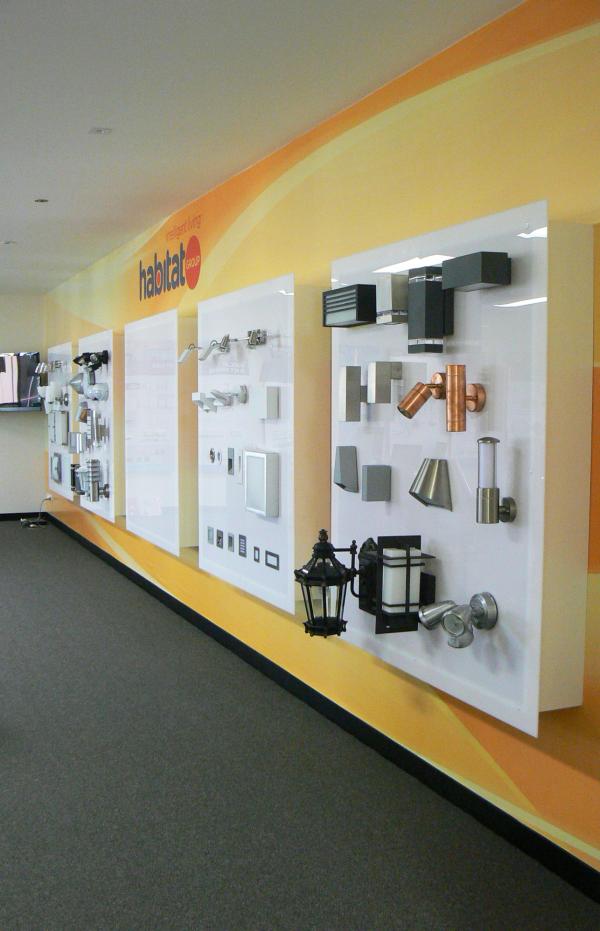 Habitat Group Lighting Showroom   Showroom interior design ...