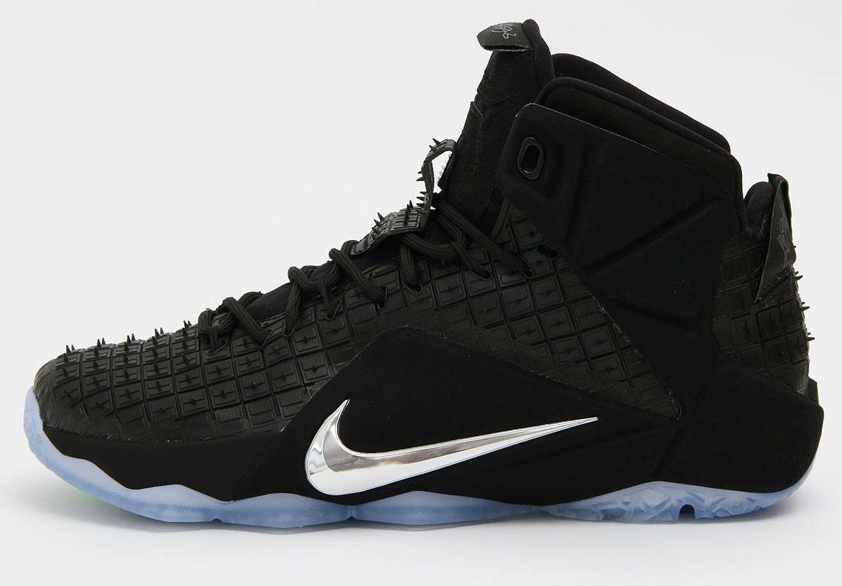 cff7d3a14cb6 Nike Lebron XII EXT RC QS Black Chrome
