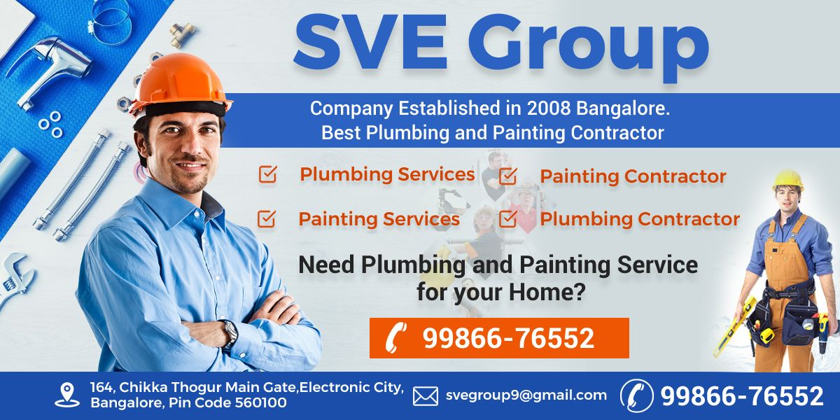 Need Plumbing and Painting service for your home? The well