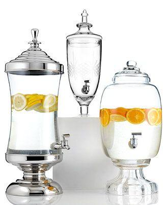 Godinger Serveware, Gatherings Beverage Dispensers Collection - Serveware - Dining & Entertaining - Macy's