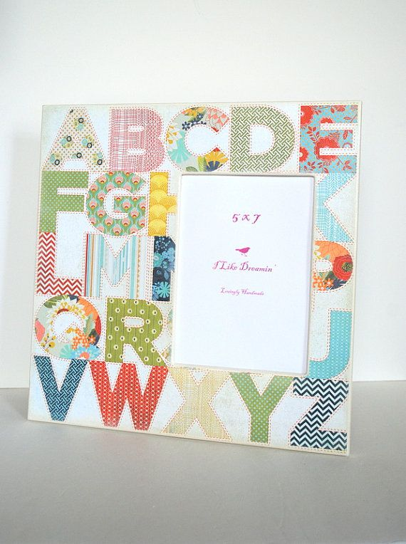 12 X 12 Picture Frame Alphabet Picture Frame 5 X 7 Frame By Mmim 36 00 12 Picture Frame Alphabet Pictures Picture Frames