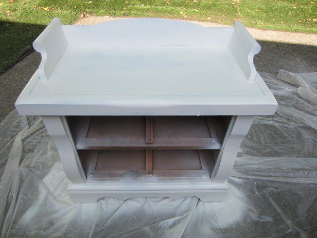 Repurposed End Table To Hidden Litter Box Diy Furniture Finishes