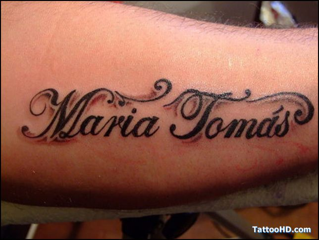 Name Lettering Tattoo Pictures Tattoos