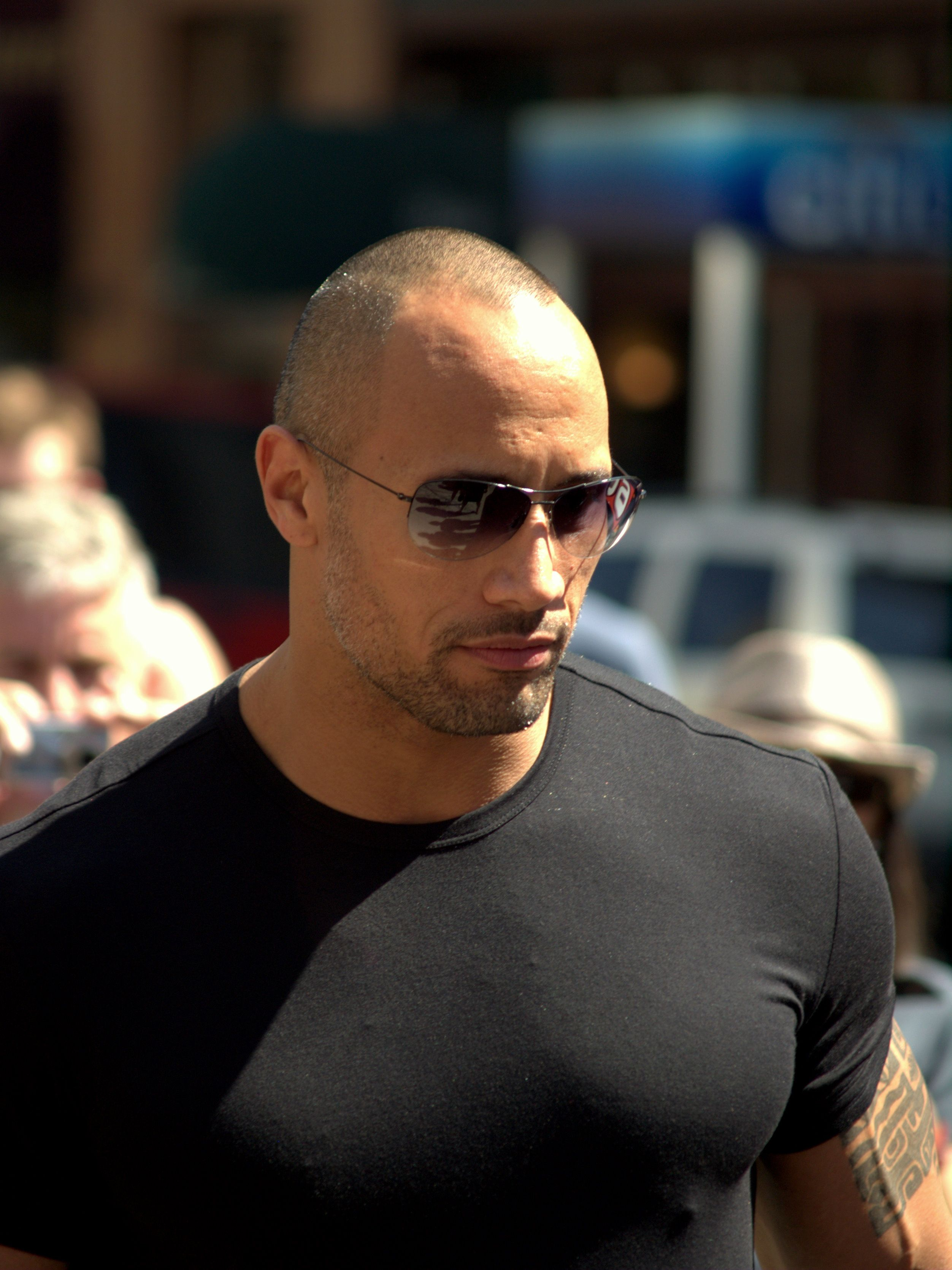 Dwayne the rock johnson is the world s highest paid actor http
