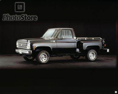 1980 Chevrolet K 10 Silverado Stepside 4x4 Pickup Gmphotostore New Trucks Chevrolet Trucks Hot Rods Cars Muscle
