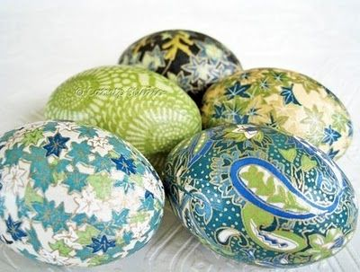 Decoupage Easter Eggs I Make These Every Year From Fancy