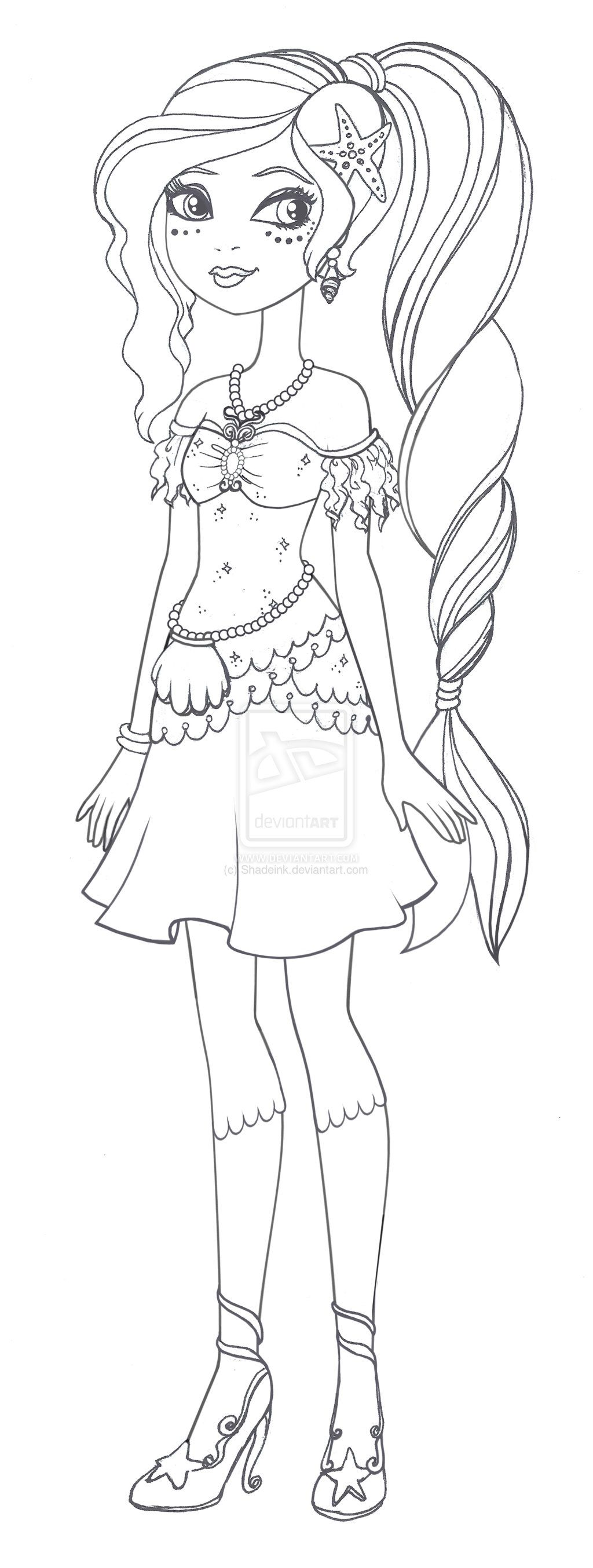 Coloring pages for ever after high - Ever After High Apple White Coloring Pages Ever After High Nariel Miriam