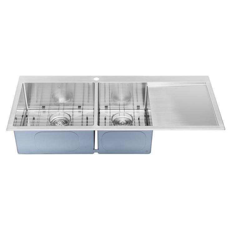 Bai 1235 stainless steel 16 gauge kitchen sink handmade 48