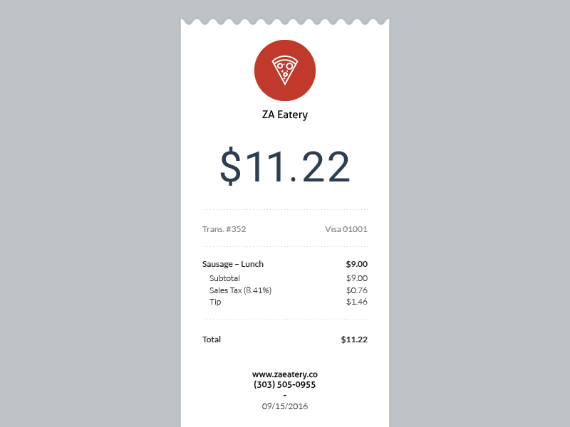 email receipt receipt pinterest email design app design and